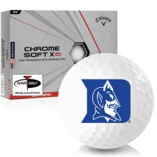 Callaway Golf Chrome Soft X LS Duke Blue Devils Golf Balls