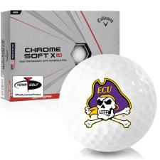 Callaway Golf Chrome Soft X LS East Carolina Pirates Golf Balls