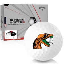 Callaway Golf Chrome Soft X LS Florida A&M Rattlers Golf Balls