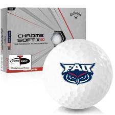 Callaway Golf Chrome Soft X LS Florida Atlantic Owls Golf Balls