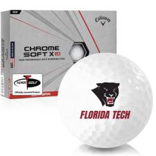 Callaway Golf Chrome Soft X LS Florida Tech Panthers Golf Balls