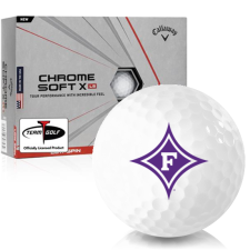 Callaway Golf Chrome Soft X LS Furman Paladins Golf Balls