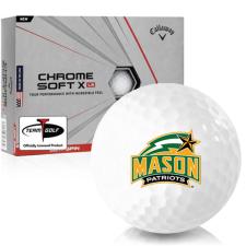 Callaway Golf Chrome Soft X LS George Mason Patriots Golf Balls
