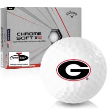 Callaway Golf Chrome Soft X LS Georgia Bulldogs Golf Balls