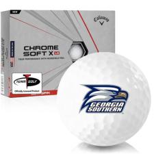 Callaway Golf Chrome Soft X LS Georgia Southern Eagles Golf Balls