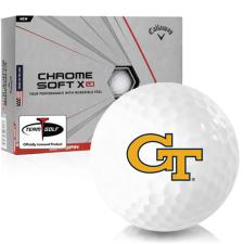 Callaway Golf Chrome Soft X LS Georgia Tech Golf Balls