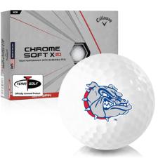 Callaway Golf Chrome Soft X LS Gonzaga Bulldogs Golf Balls