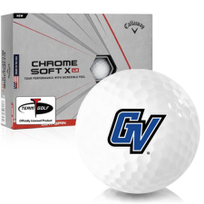 Callaway Golf Chrome Soft X LS Grand Valley State Lakers Golf Balls