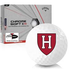 Callaway Golf Chrome Soft X LS Harvard Crimson Golf Balls