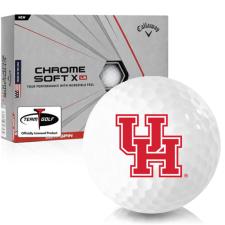 Callaway Golf Chrome Soft X LS Houston Cougars Golf Balls