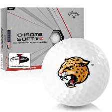 Callaway Golf Chrome Soft X LS IUPUI Jaguars Golf Balls