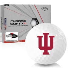 Callaway Golf Chrome Soft X LS Indiana Hoosiers Golf Balls