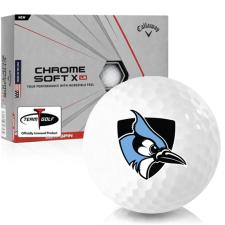 Callaway Golf Chrome Soft X LS Johns Hopkins Blue Jays Golf Balls
