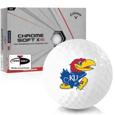 Callaway Golf Chrome Soft X LS Kansas Jayhawks Golf Balls