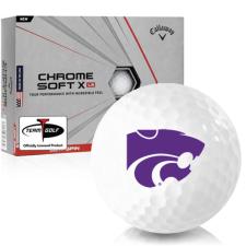 Callaway Golf Chrome Soft X LS Kansas State Wildcats Golf Balls