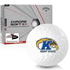 Callaway Golf Chrome Soft X LS Kent State Golden Flashes Golf Balls