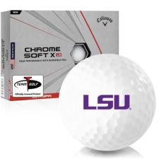 Callaway Golf Chrome Soft X LS LSU Tigers Golf Balls