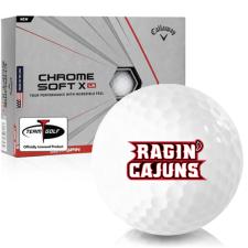 Callaway Golf Chrome Soft X LS Louisiana Ragin' Cajuns Golf Balls