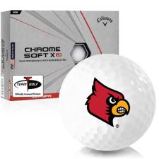 Callaway Golf Chrome Soft X LS Louisville Cardinals Golf Balls