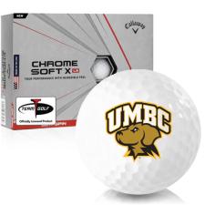 Callaway Golf Chrome Soft X LS Maryland Baltimore County Retrievers Golf Balls