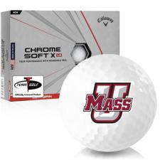 Callaway Golf Chrome Soft X LS UMass Minutemen Golf Balls