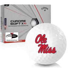 Callaway Golf Chrome Soft X LS Ole Miss Rebels Golf Balls