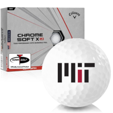 Callaway Golf Chrome Soft X LS MIT - Massachusetts Institute of Technology Golf Balls