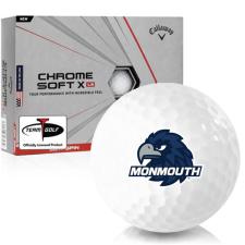 Callaway Golf Chrome Soft X LS Monmouth Hawks Golf Balls