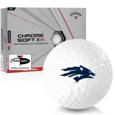 Callaway Golf Chrome Soft X LS Nevada Wolfpack Golf Balls
