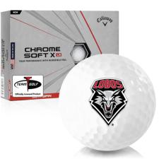 Callaway Golf Chrome Soft X LS New Mexico Lobos Golf Balls