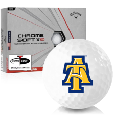 Callaway Golf Chrome Soft X LS North Carolina A&T Aggies Golf Balls