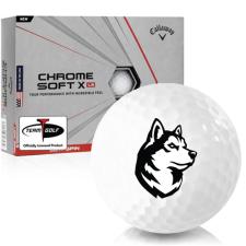 Callaway Golf Chrome Soft X LS Northeastern Huskies Golf Balls
