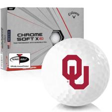 Callaway Golf Chrome Soft X LS Oklahoma Sooners Golf Balls