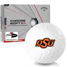 Callaway Golf Chrome Soft X LS Oklahoma State Cowboys Golf Balls
