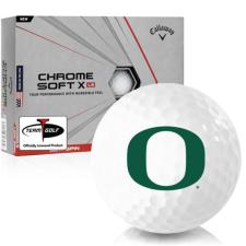 Callaway Golf Chrome Soft X LS Oregon Ducks Golf Balls