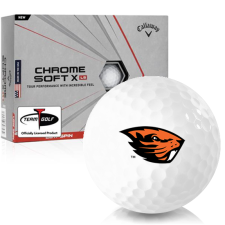 Callaway Golf Chrome Soft X LS Oregon State Beavers Golf Balls