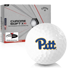 Callaway Golf Chrome Soft X LS Pittsburgh Panthers Golf Balls