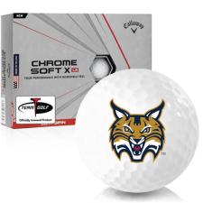 Callaway Golf Chrome Soft X LS Quinnipiac Bobcats Golf Balls