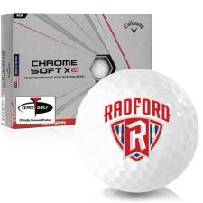 Callaway Golf Chrome Soft X LS Radford Highlanders Golf Balls