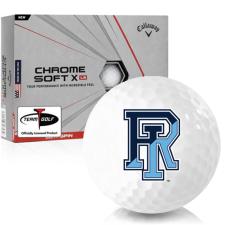 Callaway Golf Chrome Soft X LS Rhode Island Rams Golf Balls
