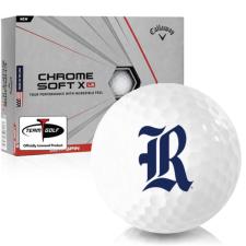 Callaway Golf Chrome Soft X LS Rice Owls Golf Balls