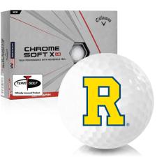 Callaway Golf Chrome Soft X LS Rochester Yellowjackets Golf Balls