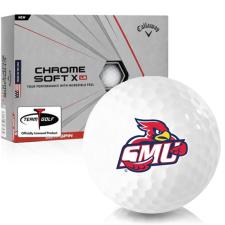 Callaway Golf Chrome Soft X LS Saint Mary's of Minnesota Cardinals Golf Balls