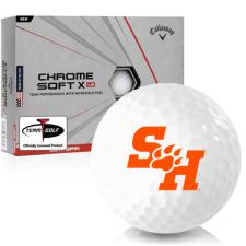 Callaway Golf Chrome Soft X LS Sam Houston State Bearkats Golf Balls