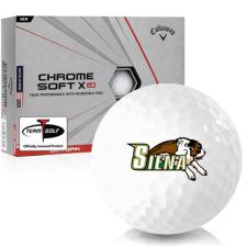 Callaway Golf Chrome Soft X LS Siena Saints Golf Balls