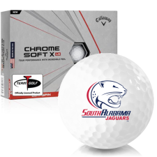 Callaway Golf Chrome Soft X LS South Alabama Jaguars Golf Balls
