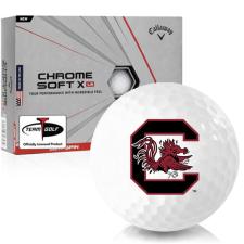 Callaway Golf Chrome Soft X LS South Carolina Fighting Gamecocks Golf Balls