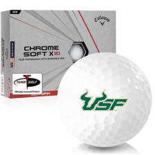 Callaway Golf Chrome Soft X LS South Florida Bulls Golf Balls