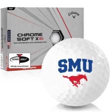 Callaway Golf Chrome Soft X LS SMU Mustangs Golf Balls