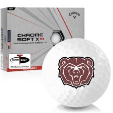 Callaway Golf Chrome Soft X LS Southwest Missouri State Bears Golf Balls